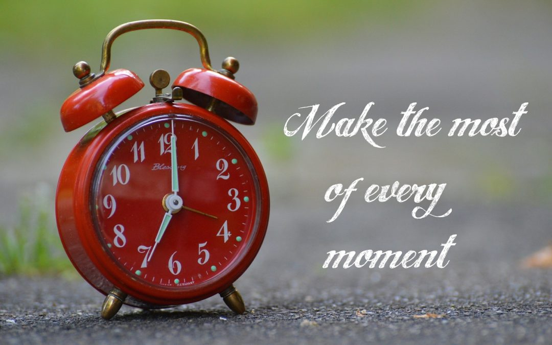 Time is Ticking! How are you spending yours?