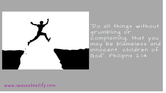 Do everything without grumbling and complaining