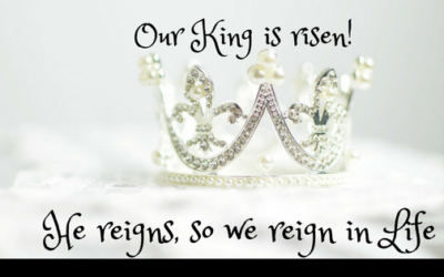 He reigns! So we reign; Reigning over challenges of life